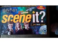 HARRY POTTER 2ND EDITION SCENE IT DVD GAME.