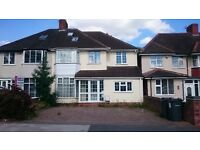 SIX BED SEMI-DETACHED HOUSE FURNISHED: GREAT BARR: CONSERVATORY: OFF STREET PARKING: ONLY £1295PCM