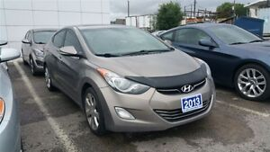 2013 Hyundai Elantra Limited w/Nav-LEATHER/SUNROOF/NAVIGATION