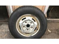 ford transit wheel and tyre 215/ 75r /16c