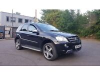 "2008 Mercedes ML 320 AMG SPEC - SAT NAV- FSH- 21""AMG ALLOYS. Excellent condition"