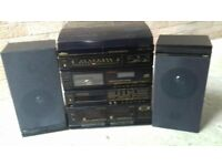 Cd/ radio and cassette player