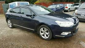 Citroen C5 1.6 hdi saloon manual recent cambelt and service . 58 plate