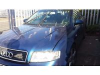 AUDI A4 2004 BREAKING MOST OF THE PARTS AVALIABLE