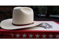 Genuine Houston Texas stetson manufactured by American Hat Company