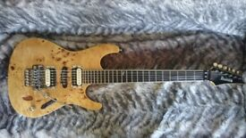 Ibanez Prestige S2170FW w/modified pickups
