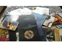 50+ Vinyl Albums Various Artists including Eagles /ELO/Blondie/Elton John.