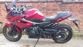 Beautiful motorbike, not to heavy.power:more than enough to enjoy a long/short trip. Comfortable