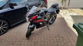 2018 reg Suzuki GSX-R125 for sale with accessories