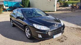 Peugeot 407, 2008, Black, Manual, 2.0 diesel
