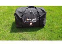 VANGO DIABLO 400 TENT - SLEEPS 4 - NEVER USED - POLES / CARRY BAG - RRP £445