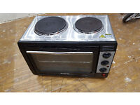 Elgento Electric Oven + 2 Hot Plates - Used £39