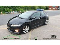2008 HONDA CIVIC TYPE R FN2 BLACK BREAKING SPARES PARTS SALVAGE