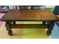 Coffee table mahogany good condition