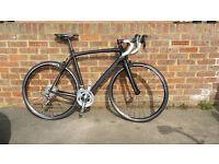 Planet X RT-58 carbon road bike. 56cm (L). New compact build.