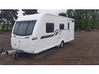 Coachman Vision 520/4. Used Touring Caravan. 4 Berth Side Dinette