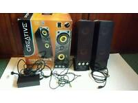 Creative T40 series 2 speakers pc / tv