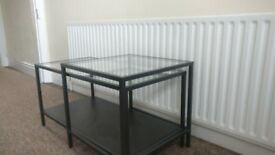Glass coffee table from Ikea, not used - perfect condition