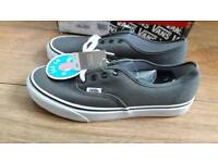 New with tags grey vans