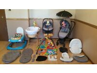 Silver Cross Surf Travel System Pushchair Pram Stroller Car Seat With Lots Of Extras Limited Edition