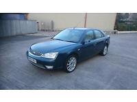 FORD MONDEO 2.5 Ghia X 5dr Auto (blue) 2005