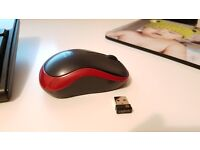Logitech wireless mouse - like new condition hardly used
