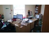 Desk in shared office in centre of Totnes with free wifi & use of stunning meeting room