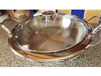 Oneida Cook & Serve Stainless Steel Pan
