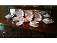 """Dinner service, Crown Ducal """"Bristol"""" very good condition 26 pieces"""