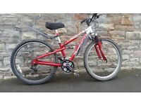 FULLY SERVICED APOLLO XC26 FULL SUSPENSION BICYCLE