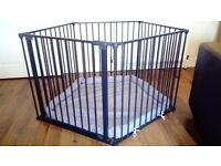 Baby Dan playpen/room divider/fire guard and wall fixing kit