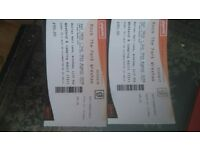 2 tickets to Rock the Park in Wrexham 1 8th7th to 19th Aug £30 each (rrp £90)