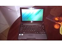 """Acer Aspire One RAM UPGRADE D255 in great condition with case 1.66GHz / 2GB / 250GB / 10.1"""" / Win 7"""
