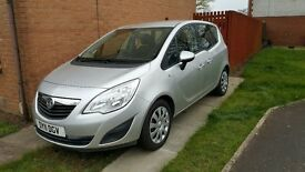 VAUXHALL MERIVA EXCLUSIVE 1.4 TURBO PETROL, 6 SPEED, 5 DOOR , A/C