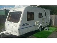 bailey ranger 470/4 berth top of the range model with a awning in vgc ready to go
