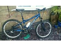 Specialized hardrock sport mountain bike