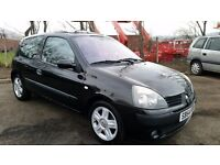 2004 [54] RENAULT CLIO DYNAMIQUE DCI 1.5 DIESEL 64.000 MILES 1 YEARS MOT(PART EX WELCOME)