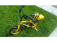 Kids 12inch Digby bike with toolbox