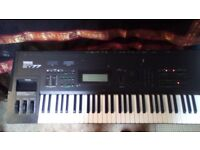 Yamaha SY77 Synthesizer Keyboard