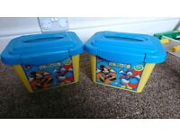 Small mickey mouse tubs
