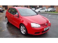 VOLKSWAGEN GOLF 5 SPORT 2.0 TDI 140BHP - FULL SERVICE HISTORY, EXCELLENT CONDITION