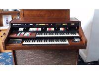 Hammond organ, romance series.