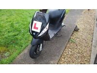 Piaggio zip 2t moped/scooter 50cc learner legal