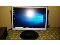 "Hanns G, 17"" Inch Widescreen Fully Functional PC Monitor with Power Cord and VGA Cable + MORE"