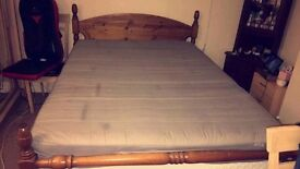 Memory double mattress, good condition £45