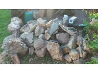 large rockery, changing landscape and therefore no longer needed. bargain £100 for the lot