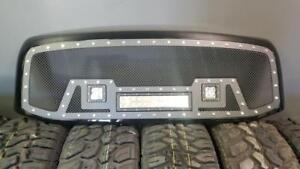 BRAND NEW 2006, 2007 & 2008 DODGE RAM 1500 MESH LED GRILL WITH FULL SHELL! - NO CUTTING REQ! - FINANCING AVAILABLE