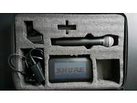 Shure PG58 Wireless Mic & Receiver