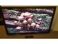"""Sharp LCD TV 46"""" 1080P Full HD With Freeview - can deliver"""