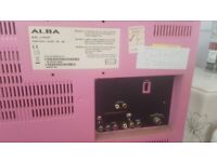 19inch pink lcd tv with dvd player